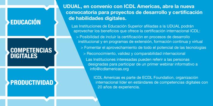 Convocatoria UDUAL ICDL